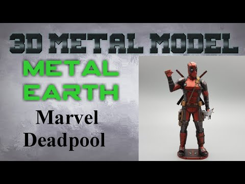 Metal Earth Build - Marvel Deadpool