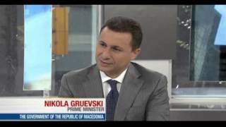 Интервју на премиерот Груевски за канадската TV BNN