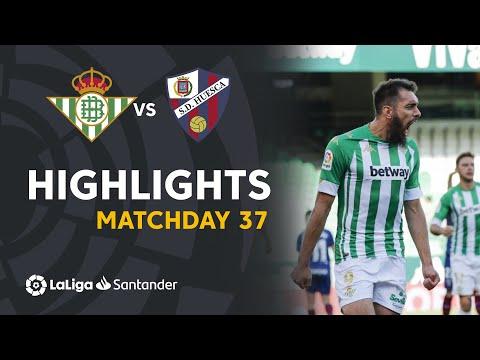 Betis Huesca Goals And Highlights
