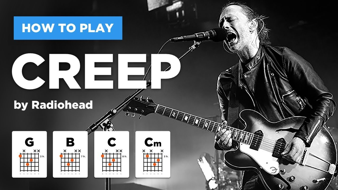Creep Radiohead Guitar Lesson Easy Version Without Barre