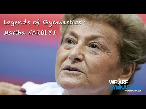 Legends of Gymnastics  Martha Karolyi USA