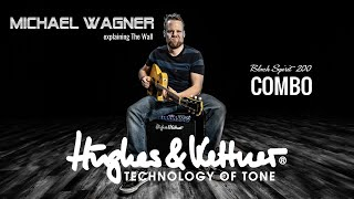 The Hughes & Kettner Black Spirit 200 Combo with Michael Wagner