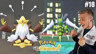 Nowe wyzwanie! Mega Alakazam! (Pokemon Let's GO Pikachu ! odc. #18)