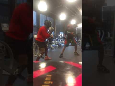 Rylo vs rakeem the dream sparring