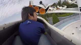 กังฟูขับ Star Jets in Tokyo Disneyland