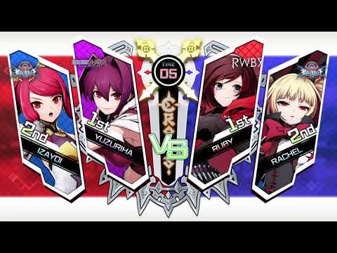 BLAZBLUE CROSS TAG BATTLE Some Review Games