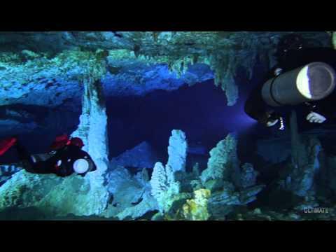 Cave Diving Mayan Blue