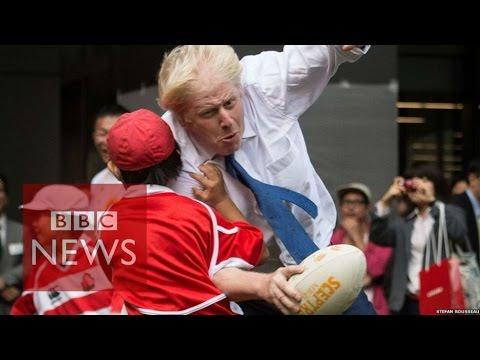 Boris Johnson takes