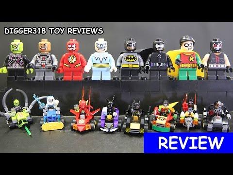 Lego DC SuperHeroes Mighty Micros Sheng Yuan Bootleg SY731 Knockoff ...
