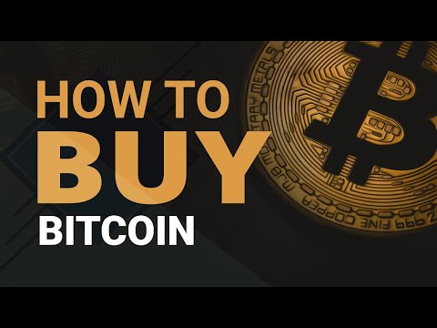 How To Buy And Transfer Bitcoin Tutorial