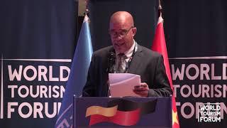 WORLD TOURISM FORUM ANGOLA 2019 - DAVID GERMAIN SPEECH