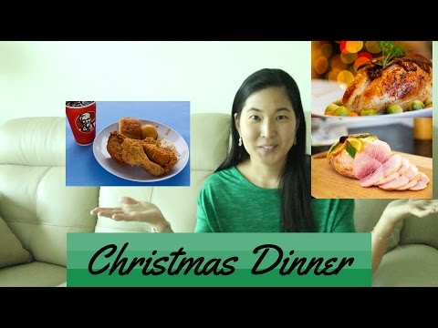 Being Japanese American: Christmas Dinner Traditions - YouTube