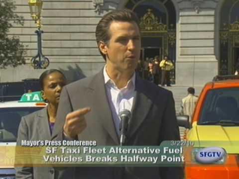 More Than Half of San Franciscos Taxi Fleet is Green