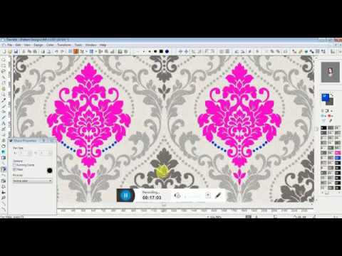 HOW TO EDIT DAMASK DESIGN IN NEDGRAPHICS TEXCELLE