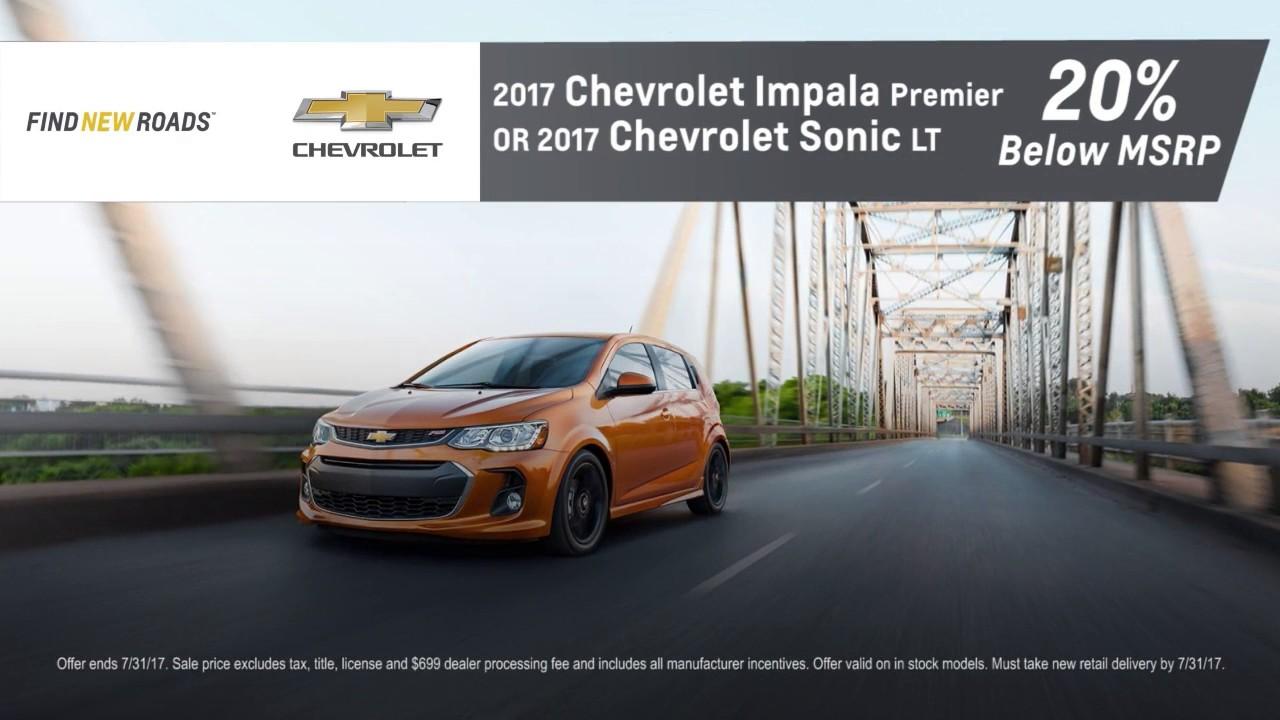 Pohanka Chevrolet 20% Below MSRP Discount Chantilly VA Washington-DC