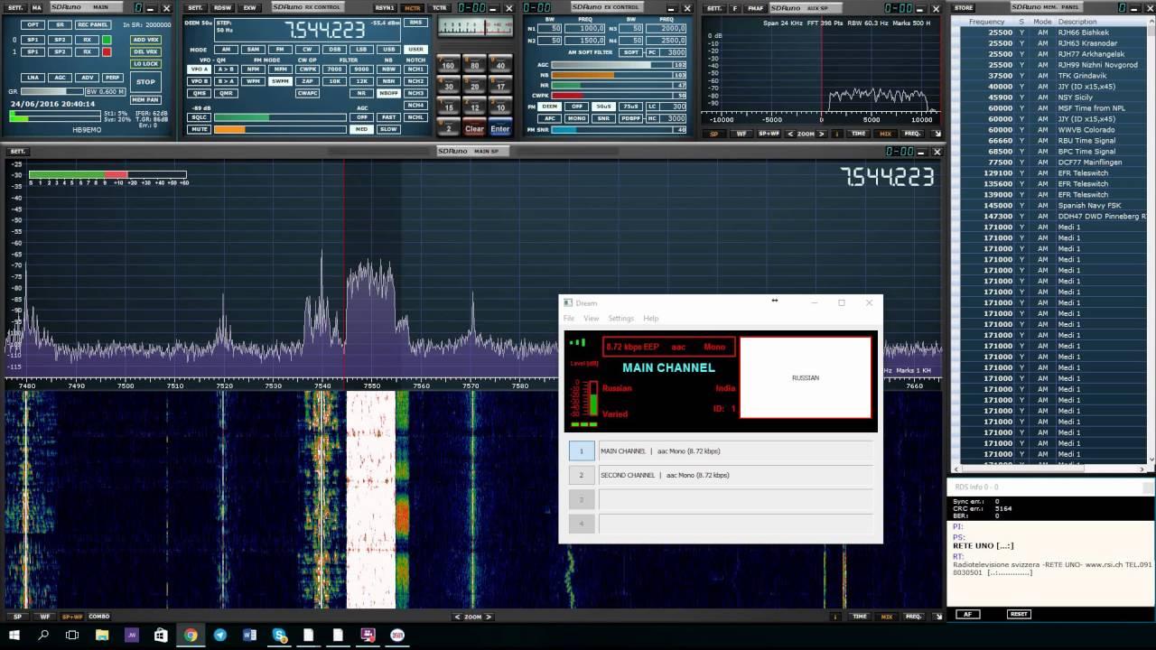 Review: SDRUno + SDRPlay - N6PET - My Ham Radio Journal