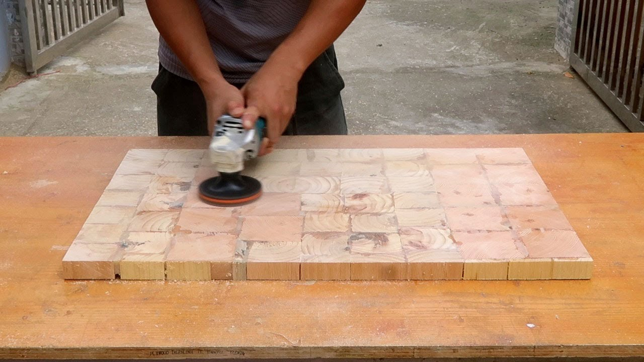 Perfect  Recycling Idea From Old Wood That You Have Never Seen // DIY Simple Coffee Table At Home