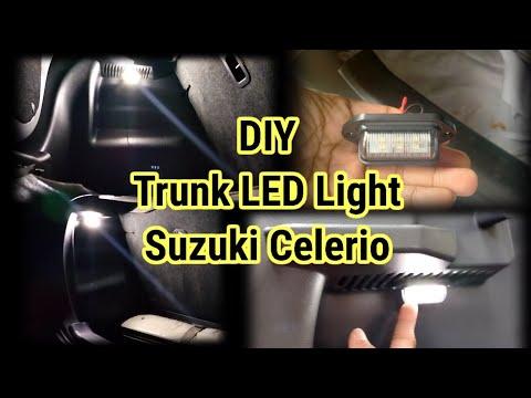 How to Install Car LED Trunk Light for Suzuki Celerio │ DIY Car Trunk Light