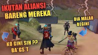 IKUTAN ALIANSI BARENG MEREKA.! LIHAT REAKSI MEREKA - GARENA FREE FIRE