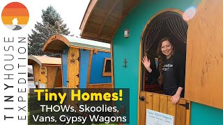 Tiny Houses, Skoolies & Van Conversions Oh My! Festival Tours