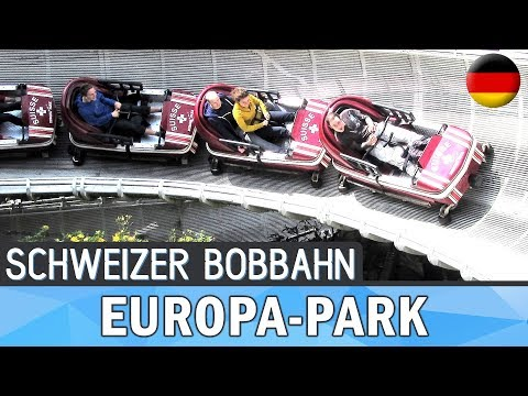 Swiss Bobsled-roller coaster @ Europa-Park (Germany) 1984 Bobsled Roller Coaster (Mack Rides)