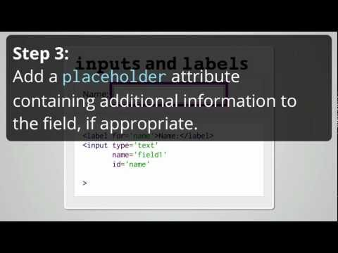 Web Accessibility: Form elements require labels.