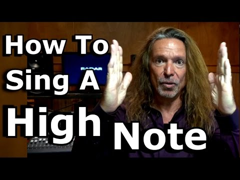 How To Sing A High Note – Head Voice – Chest Voice – Mixed Voice – Ken Tamplin Vocal Academy