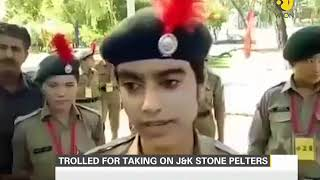 Young NCC Cadet trolled for taking on J&K stone pelters