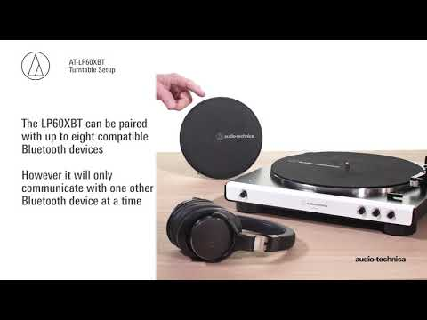 AT LP60XBT Setup | Fully Automatic Wireless Belt Drive
