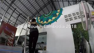 Paint Tour in Cambodia 2018