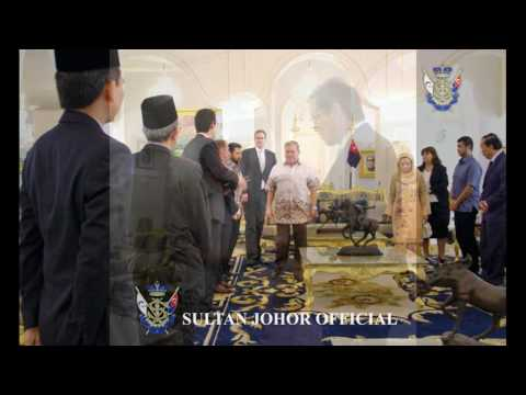 Sultan of Johor : Kunjungan Hormat Pesuruhjaya Australia dan Canada, Istana Bukit Serene