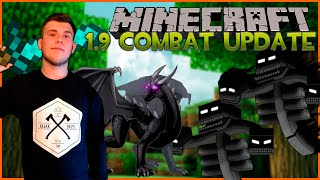 Minecraft News: THE COMBAT UPDATE 1.9 MC (Новости)