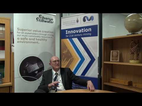 Professor Fred Cawood, Director At Wits Mining Institute