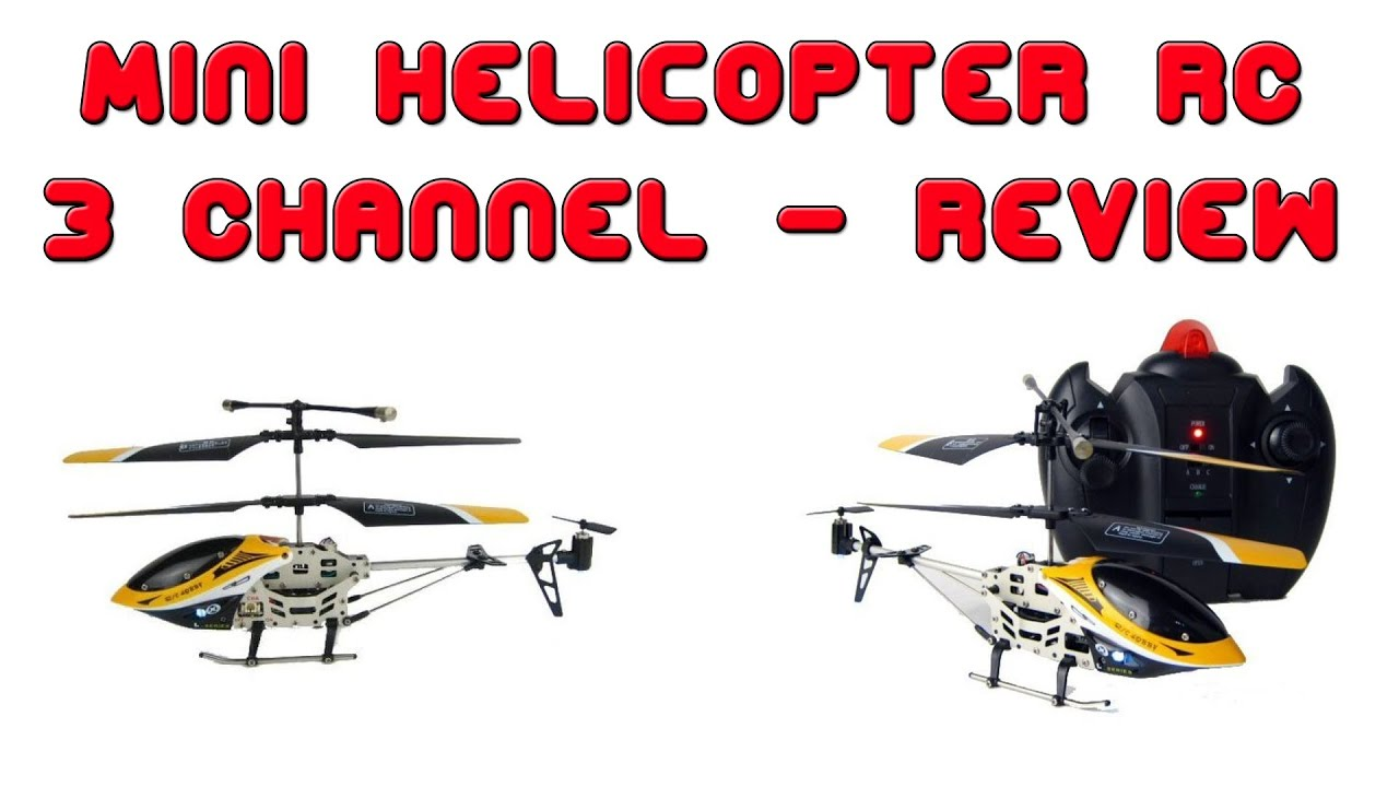 Review Mini Helicopter Rc 3 Channel With Gyro Alloy Frame Youtube
