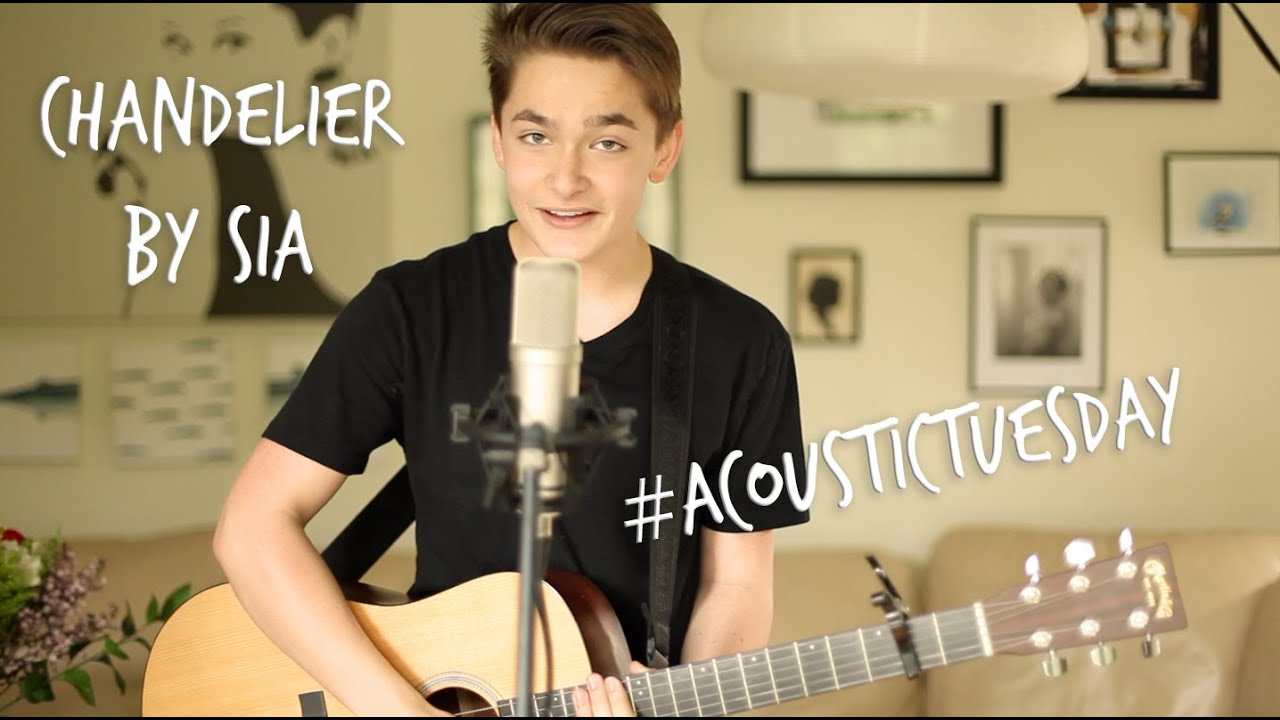 Chandelier - Sia (Acoustic Cover by Ian Grey) - YouTube