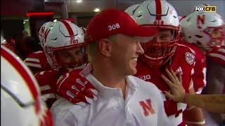 Scott Frost's First Tunnel Walk As Husker Coach