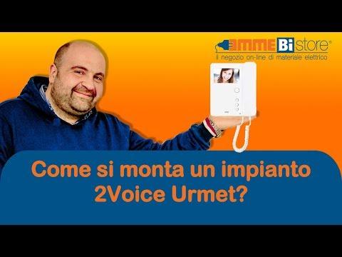 Schema Elettrico Urmet 2 Voice : Come si installa un impianto videocitofonico a due fili urmet