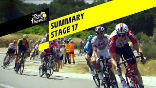 Summary - Stage 17 - Tour de France 2019