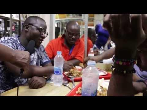 AFRICANS IN THAILAND ENJOY HOME FOOD IN A  NIGERIAN RESTAURANT