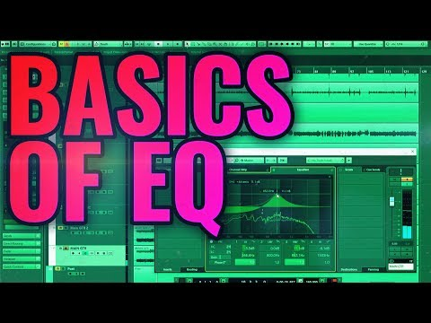 Basics of EQ for mixing metal and rock - tutorial