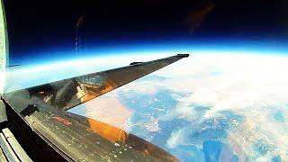 "Lockheed U-2 SPY PLANE (""Dragon Lady"")! Take-offs, landings & EXTREME ULTRA-HIGH ALTITUDE footage!"