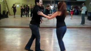 Super Nice Salsa Dancing Lesson