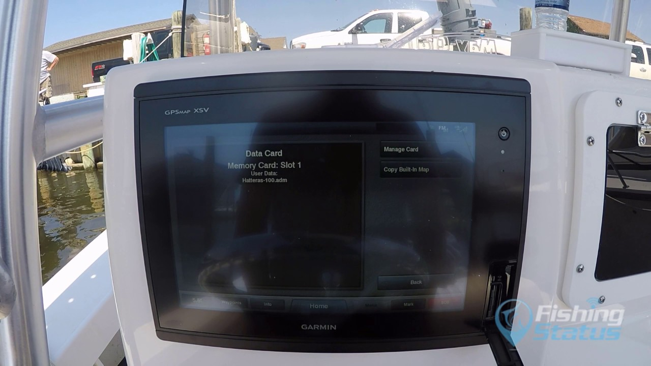 Importing Fishing Spots Into Garmin
