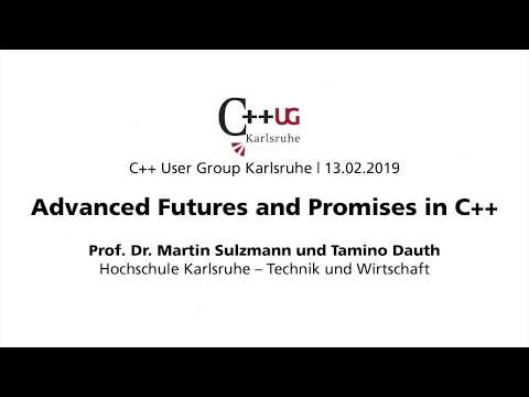 Advanced Futures and Promises in C++