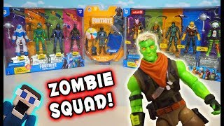 FORTNITE ZOMBIE SQUADS?! NEW Exclusive Squad Mode Gift Pack Unboxing!
