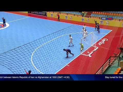 M11 - Thailand vs Lebanon - AFC U-20 Futsal Championship - IR Iran 2019