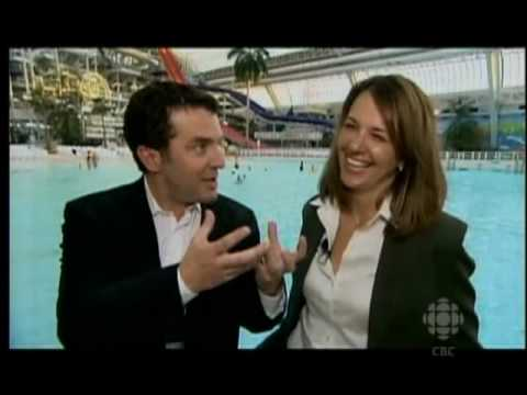 Rick Mercer And Danielle Smith Go On A Date At The West Edmonton Mall