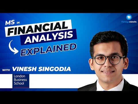 How Vinesh Singodia made it to LBS with low scores? || MS in Financial Analysis || Study in UK