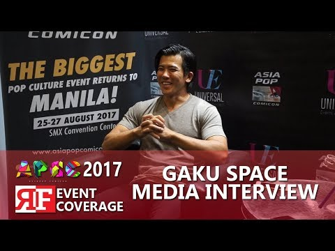 AsiaPop ComiCon 2017 Gaku Space Media Interview