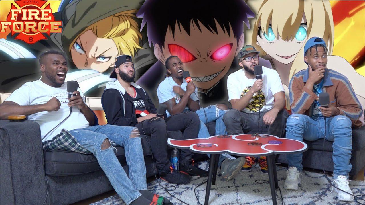 Download Evil Shinra vs Arthur! Fire Force Season 2 Episodes 1 & 2 REACTION!
